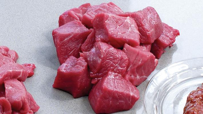 Råvare biffkjøtt