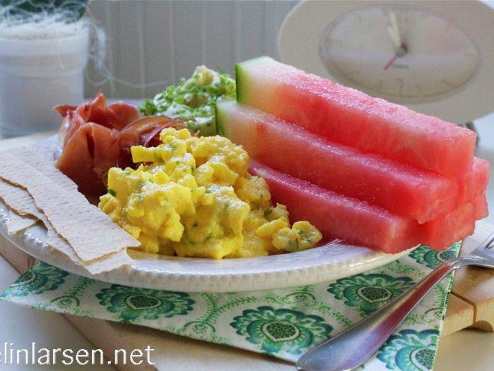 Sommermat med hjemmelaget potetsalat