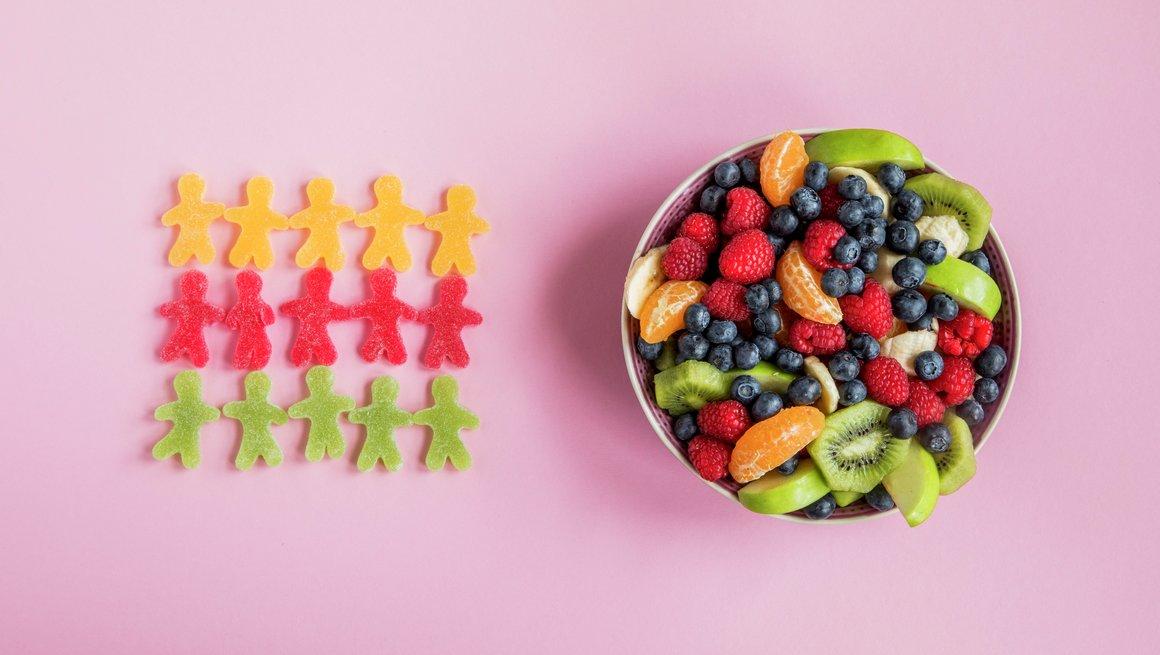 Seigmenn vs. fruktsalat