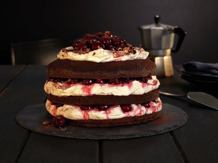 Schwartzwalderkake - Black Forest cake