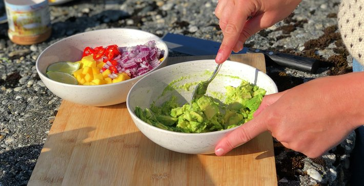 Mat på norgesferie