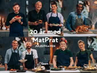20 år med MatPrat Juleutgave