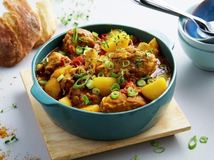 Currygryte med kje