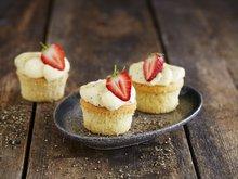 Cupcakes med pepperostkrem