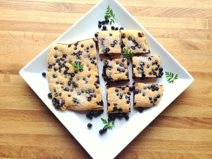 Muffins med blåbær (Linda Stuhaug)