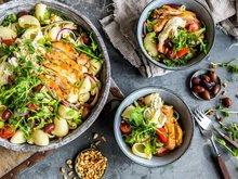 Kyllingsalat med pasta alternativ 1