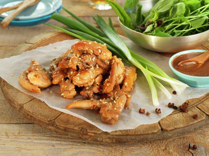 Krydret kylling fra Sichuan