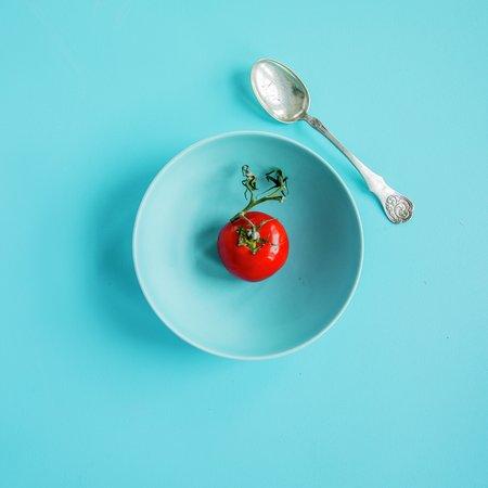 Matsvinn illustrasjonsfoto tomat