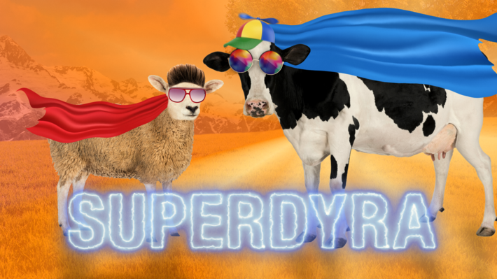 Superdyra PNG