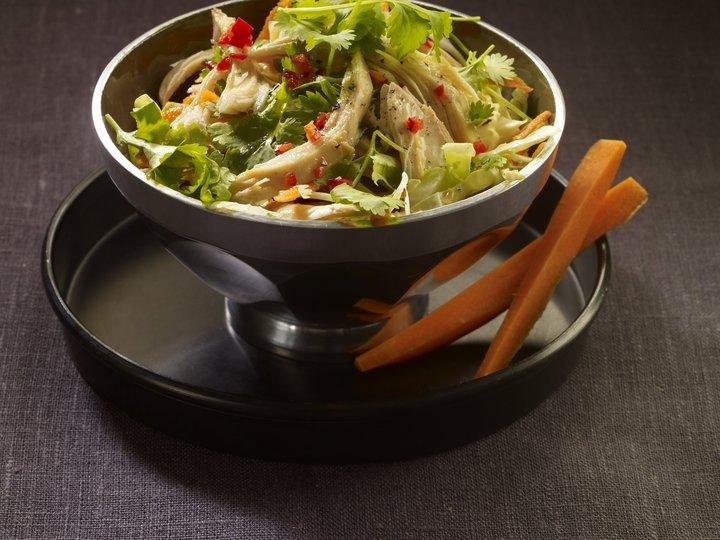 Vietnamesisk kylling og kålsalat