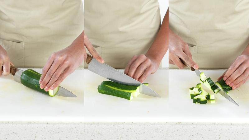 Seipanne med grønnsaker