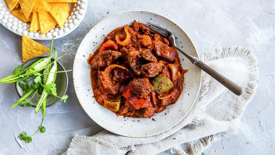 Chili con carne med høyrygg
