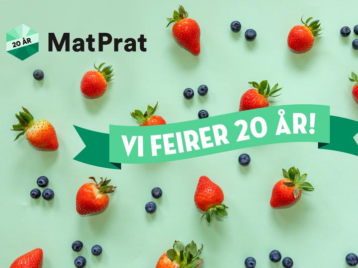20 år med MatPrat