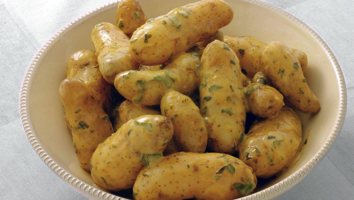 Varm potetsalat
