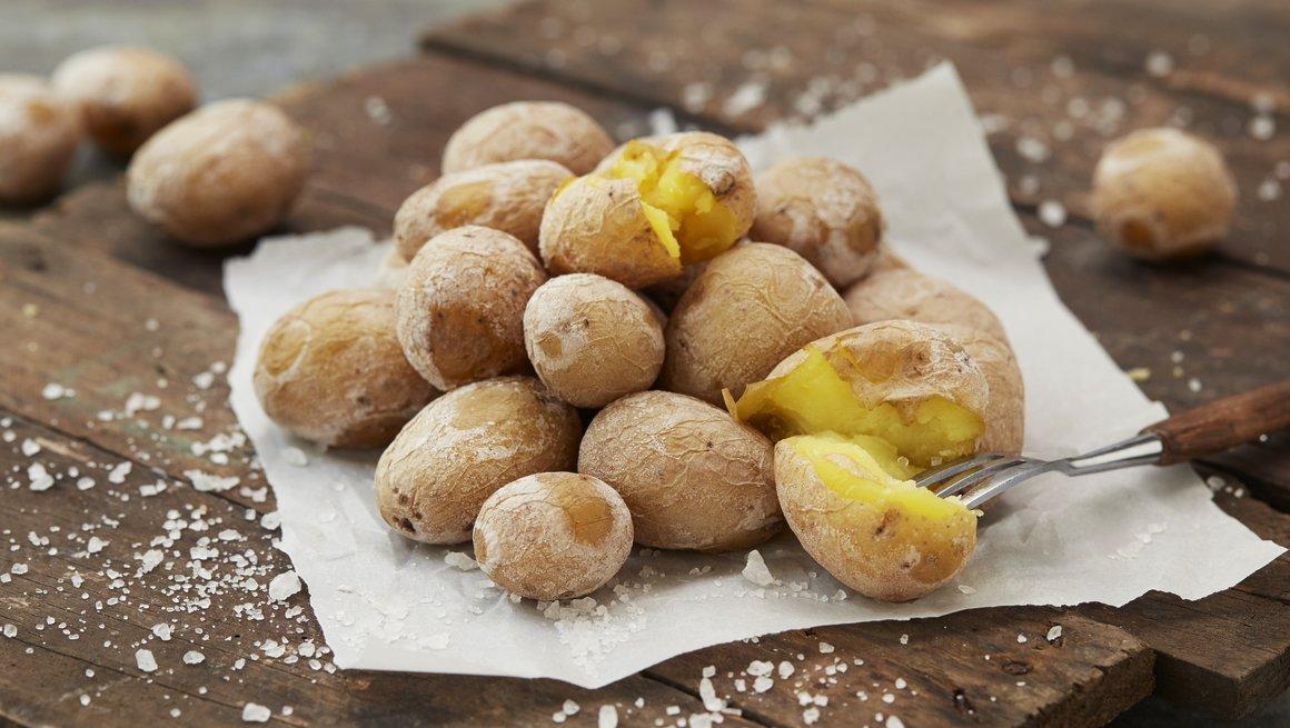 Kanaripoteter - saltkokte poteter