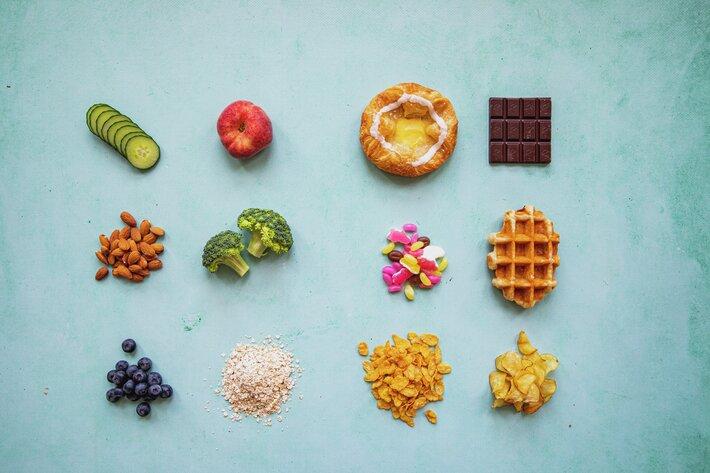 JA mat - Nei mat, bra eller drålig