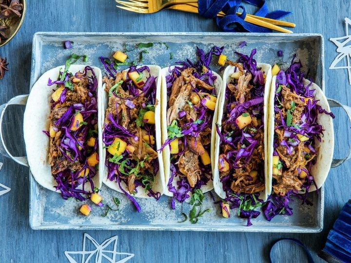 Taco med julesmaker