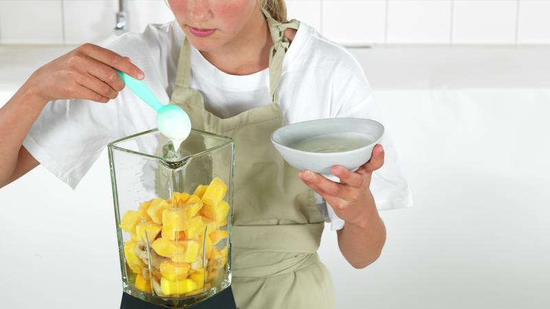 Smoothiebowl med mango
