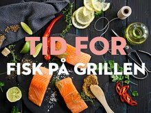 Lurer du på hvordan du skal grille fisk?