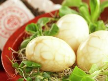 Krakelerte egg