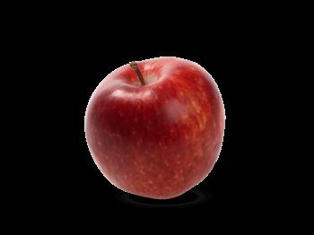 rødt eple