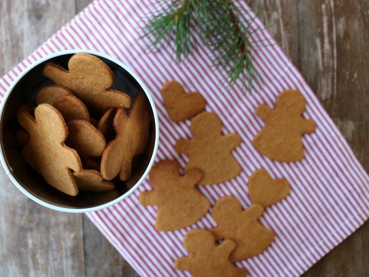 Sprø pepperkaker uten sukker