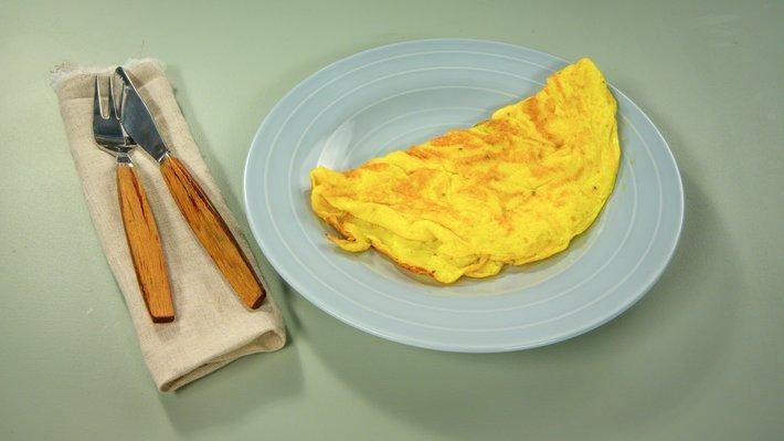 Hvordan steke omelett