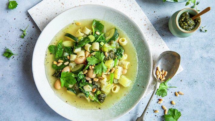 Grønn minestrone