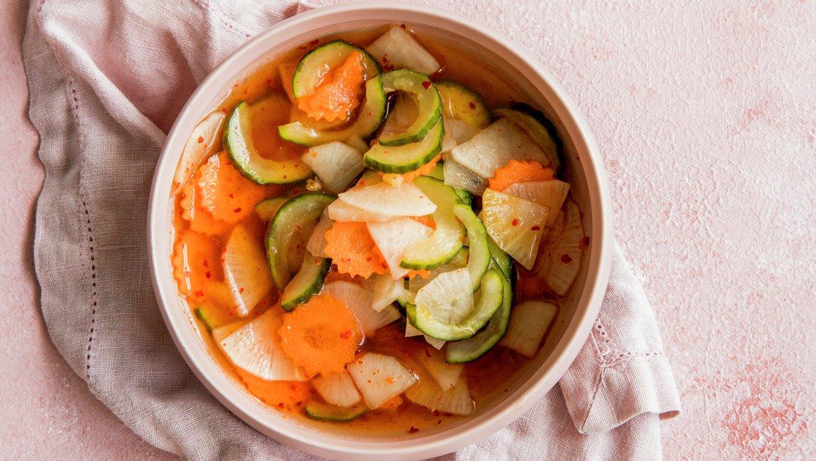 Syltede grønnsaker