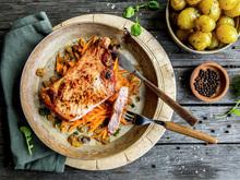 Trenger du noe raskt men kjempegodt med svinekjøtt til middag?