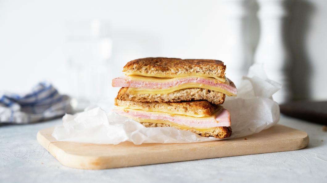Sandwich med juleskinke