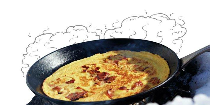 Pannekaker på bål (med illustrasjon)