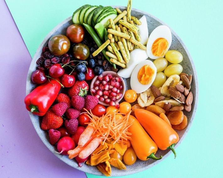 Frukt og grønt til matpakken