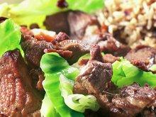 Carne no tacho com couve - brasiliansk fårikål
