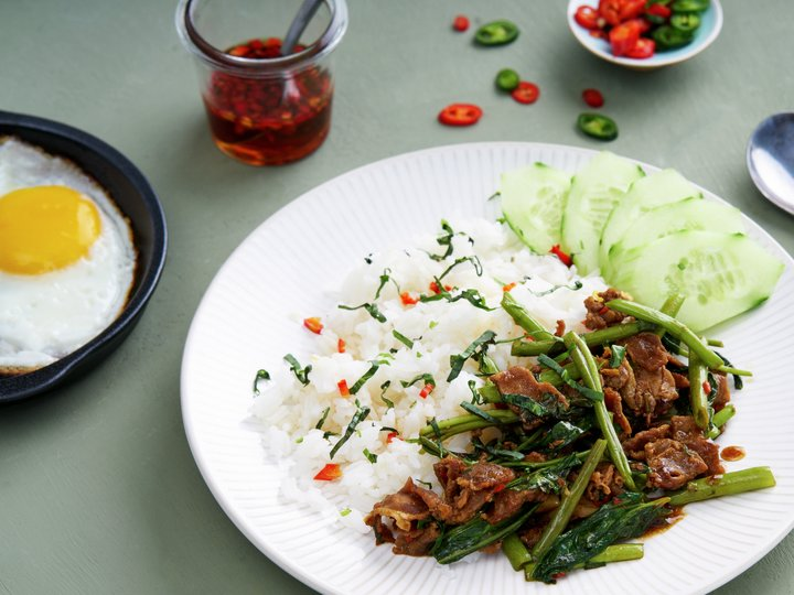 Lammeskav thai style