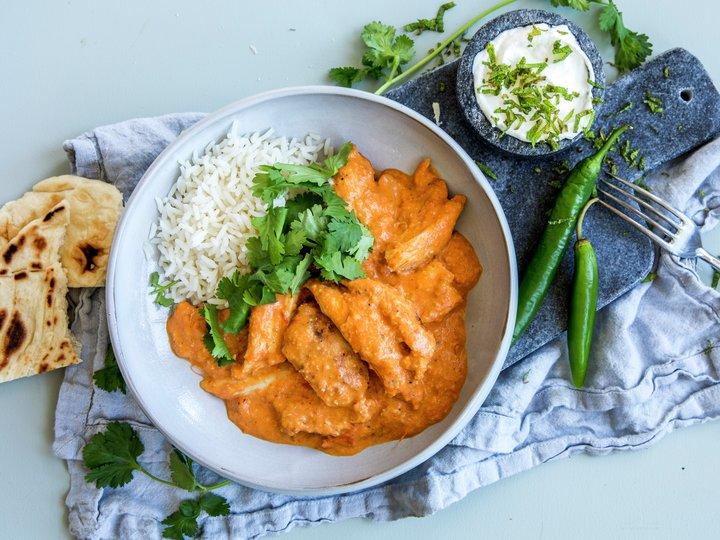 Butter chicken - indisk smørkylling