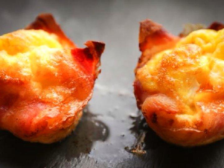 Egg og bacon på en ny måte