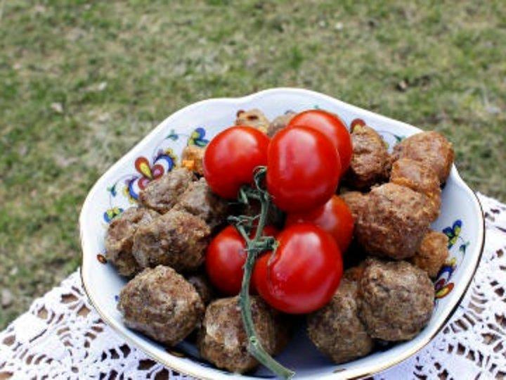 Tomatsaus til Haugen Gardsmats lammeboller