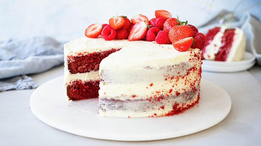 Red velvet kake
