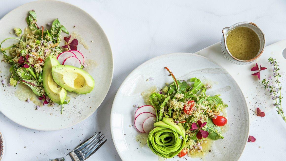 Quinoasalat med avokado