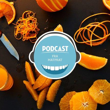 Podcast appelsin teaser block
