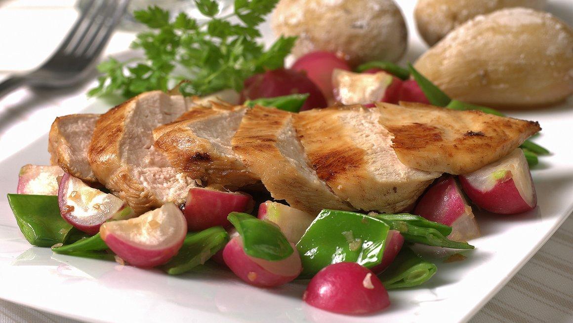 Sitronmarinert kyllingfilet