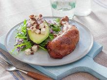 Kyllinglår med avokado og feta 1