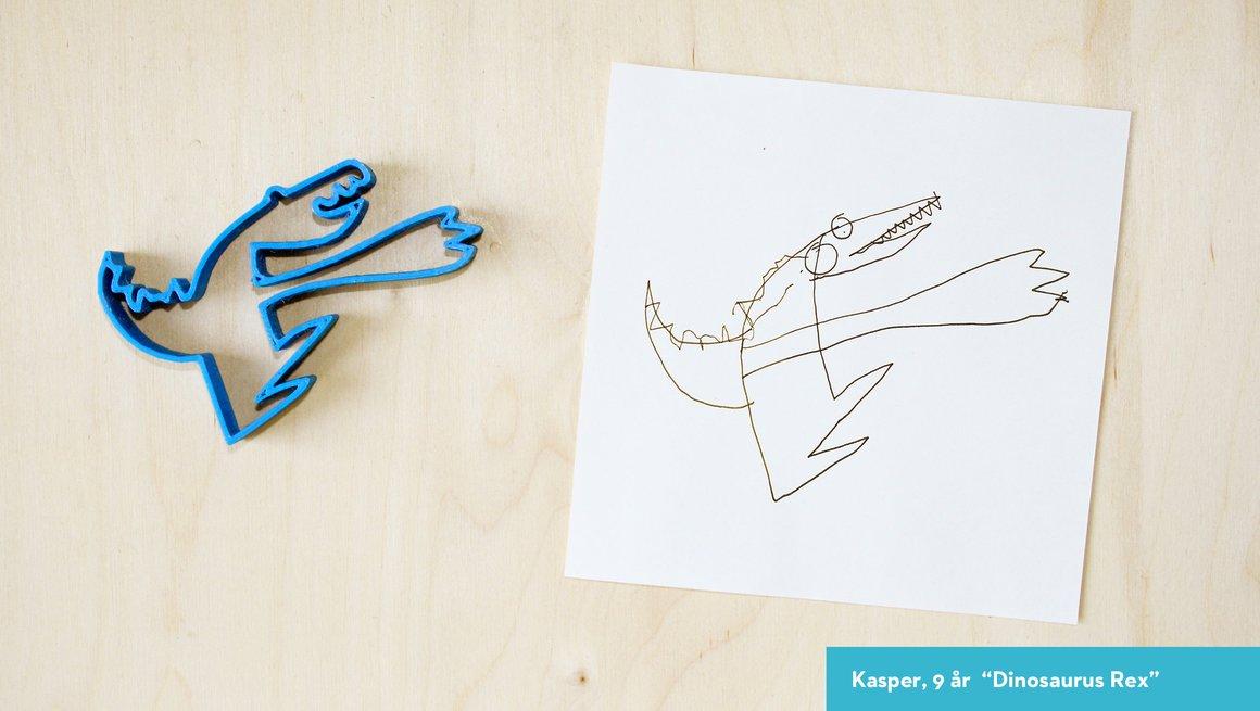 Tegninger peppekakeformer 12