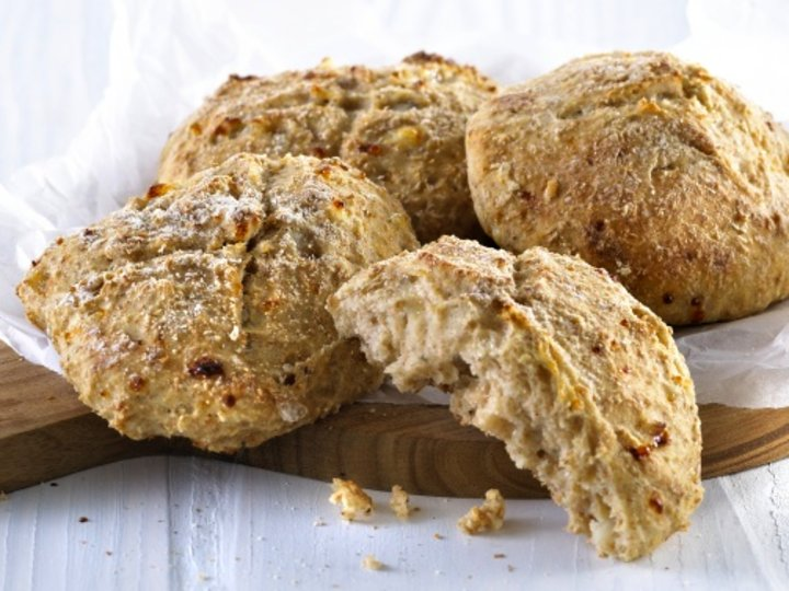 Magre scones med cottage cheese