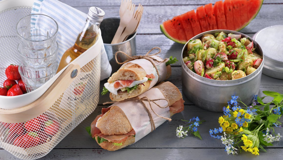 Oversiktsbilde piknik - toppbilde
