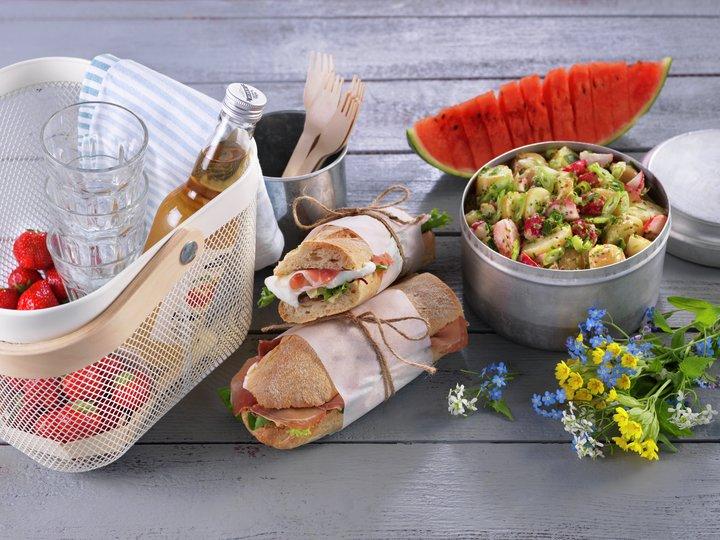 Den perfekte piknik-maten