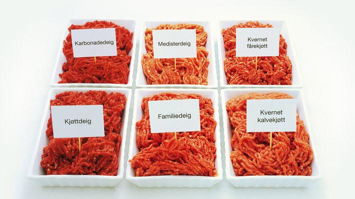 Kjøttdeigvarianter