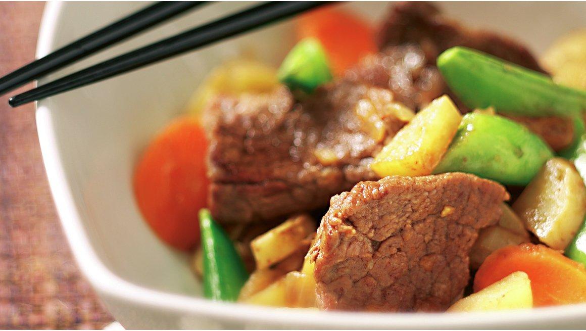 Niku jaga - kjøtt og poteter