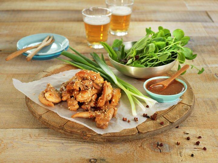Kald krydret kylling fra Sichuan